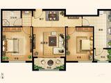 新世界家园_2室2厅1卫 建面84平米