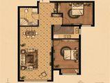京南狮子城丁香园_2室2厅1卫 建面80平米