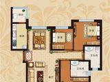 恒大翡翠华庭_3室2厅2卫 建面119平米