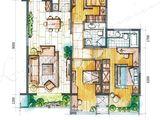 坤杰拉菲公馆_3室2厅2卫 建面152平米
