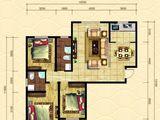 晨煜唐槐园三期_3室2厅2卫 建面133平米