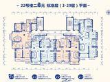 太原恒大御景湾_4室2厅2卫 建面148平米