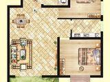北洋景苑_2室2厅1卫 建面86平米
