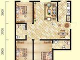 北洋景苑_3室2厅2卫 建面126平米