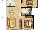荣兴天顺_2室2厅1卫 建面82平米