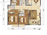 中国铁建西府国际_3室2厅2卫 建面124平米