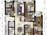 海航万绿园1号_5室2厅3卫 建面243平米