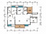 保利东湾_3室2厅2卫 建面125平米