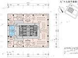 中海商务大厦_户型平面图 建面800平米