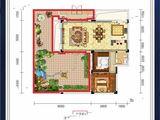 金钟定王台_2室1厅1卫 建面87平米