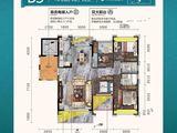曲江丽景嘉园_4室2厅2卫 建面148平米