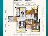 曲江丽景嘉园_3室2厅2卫 建面141平米
