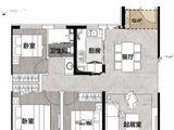 太原宝能城_3室2厅1卫 建面115平米
