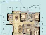 奥林匹克花园5期_4室2厅2卫 建面147平米