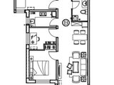 大运河智慧街区_3室1厅1卫 建面88平米